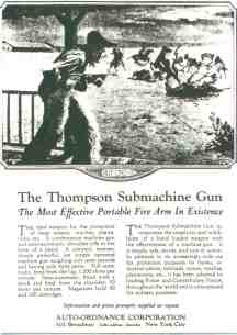 1920s Machinegun Ad